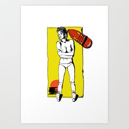 Pamela- Great expectations Art Print