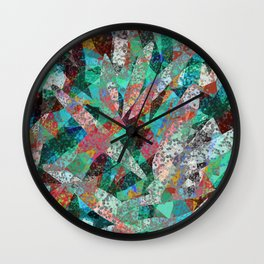 A Prayer In Spring Wall Clock