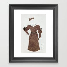 Anne of Green Gables Outfit, 2 Framed Art Print