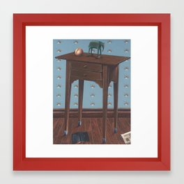 a boy's life Framed Art Print