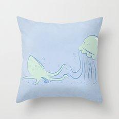 Knucks Throw Pillow