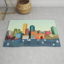 City Boston Rug