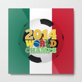 2014 World Champs Ball - Mexico Metal Print