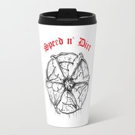 Speed and Dirt Travel Mug