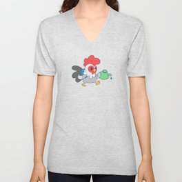 Watering Time Unisex V-Neck