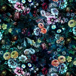 Art Print - Night Garden - RIZA PEKER