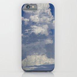 Epic Cloud Event Arising Upward Toward Eternity iPhone Case