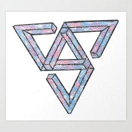 Seventeen - Teen, Age logo Art Print