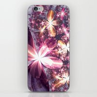 sparkles iPhone & iPod Skins featuring Sparkles by Keila Neokow