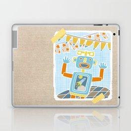 party robot Laptop & iPad Skin