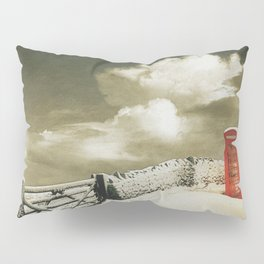 Winter in the Cotswolds, England Pillow Sham