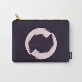 Time Is A Cycle Carry-All Pouch