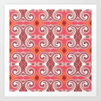spice Art Prints featuring Marrakech Spice by ALLY COXON