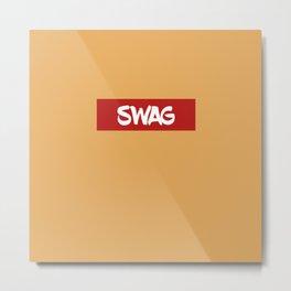 SWAG | Digital Art Metal Print