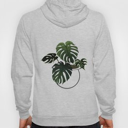 Monstera Deliciosa Hoody