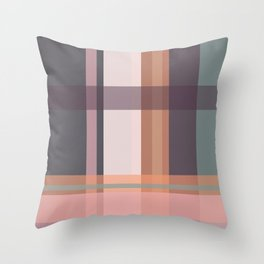 Check Throw Pillow