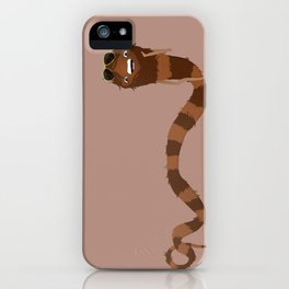 Scarf Snake Monster iPhone Case