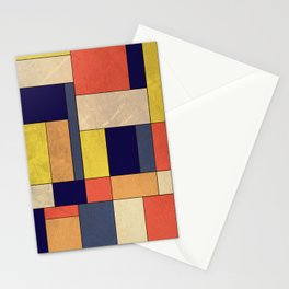 Abstract #350 Stationery Cards