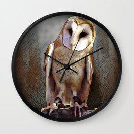 Owl Magic Wall Clock