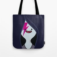 marceline Tote Bags featuring Marceline Stardust by lapinette