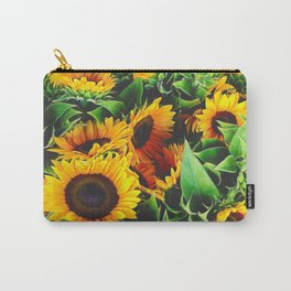 Sunfowers by Lika Ramati Carry-All Pouch