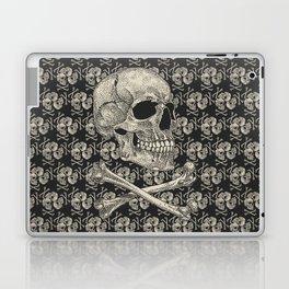 Crossbones Laptop & iPad Skin