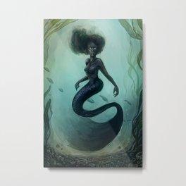 Siren Rising Metal Print