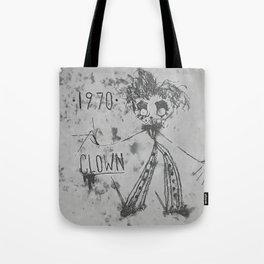 1970 | CLOWN | BW Tote Bag