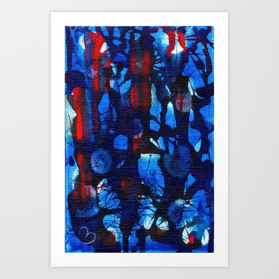 Missing Pieces Art Print