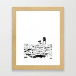 At-At Walker Framed Art Print