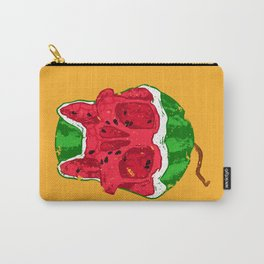 Watermelon skull Carry-All Pouch