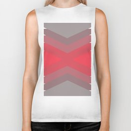 Pink Dream Pattern Biker Tank
