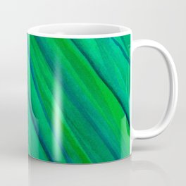Saturn Green Coffee Mug