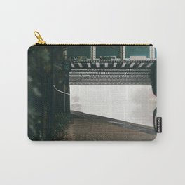 London Fog in Regents Canal II  by Diana Eastman Carry-All Pouch