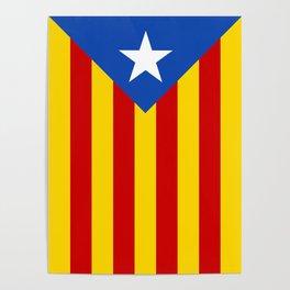 Estelada Blava - Senyeraestelada, HQ Banner version Poster