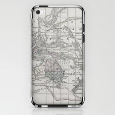 Vintage Oceania Map iPhone & iPod Skin