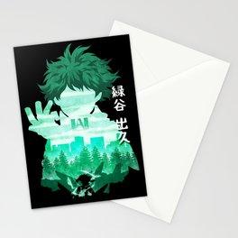 Minimalist Silhouette Deku Stationery Cards