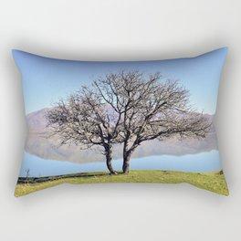 Tree Divided Rectangular Pillow