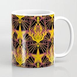 Starfire Kaleidoscope (Glowing Embers of the Sun) Coffee Mug