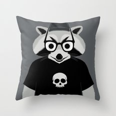raccool Throw Pillow