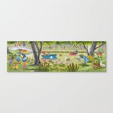 Rain Garden Canvas Print