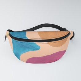 8| 190330 Abstract Shapes Painting Fanny Pack