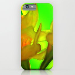 Inner glowing of springtime ... iPhone Case