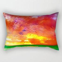 Christmas Dawn Rectangular Pillow
