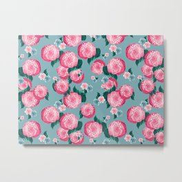 Spring Floral Dream #3 #decor #art #society6 Metal Print