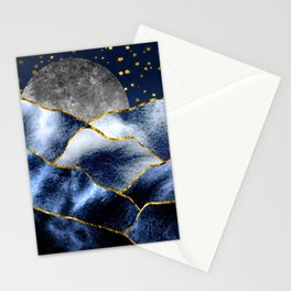 Full moon II Stationery Cards