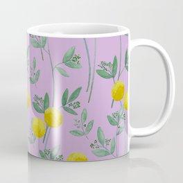 Eucalyptus and BillyBob's with Purple Background Coffee Mug