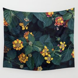 Beautiful flowers over my neighborhood Wall Tapestry