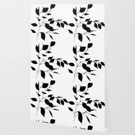 Black Leaves Wallpaper
