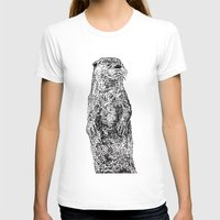 otter T-shirts featuring Otter by Meredith Mackworth-Praed